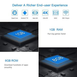 Image 5 - Vmade v96s h3 hd 안드로이드 tv 박스 안드로이드 7,0 caja de tv inteligente Allwinner H3 쿼드 코어 wifi IP TV 트위터 셋톱 박스 1 gb + 8 gb