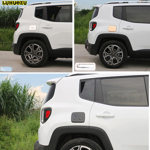 Image 5 - Luhuezu Alloy Gas Cover Fule Tank Cover For Jeep Renegade Accessories 2015 2016 2017