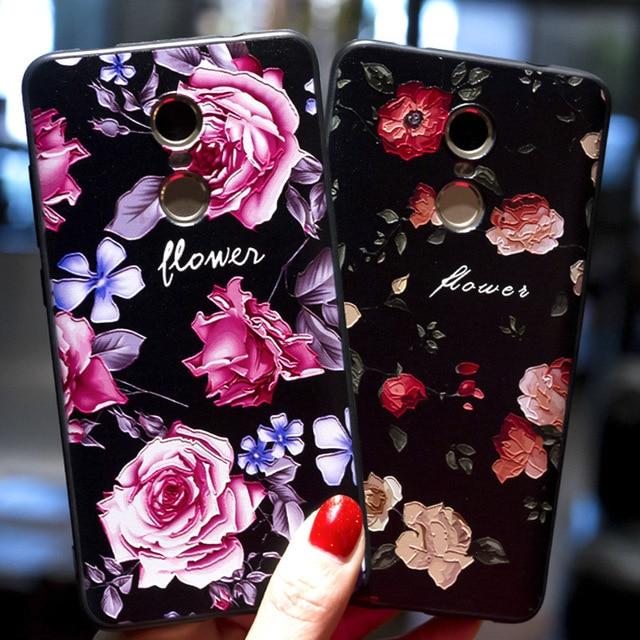 חדש עלה פרחים 3D הקלה TPU מקרה Xiaomi Redmi 5 בתוספת 5A הערה 5 הערה 5A Redmi הערה 4 4X4 Pro סיליקון רך כיסוי Redmi 6 פרו