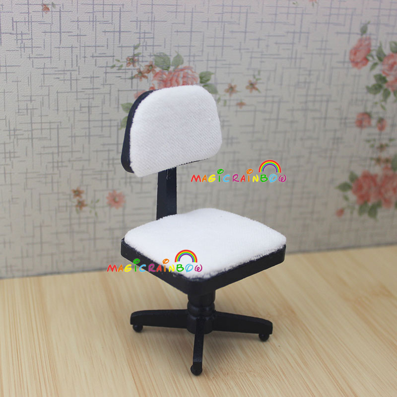 Terrific Us 14 39 10 Off 1 12 Scale Dollhouse Miniatures Desk Computer Chair Printer Office Furniture Wood 4Pc For Doll House In Furniture Toys From Toys Download Free Architecture Designs Scobabritishbridgeorg