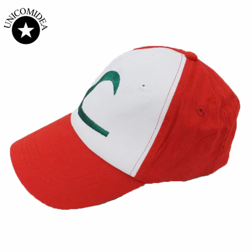 POKEMON Cap Pokemon Hat Go ASH KETCHUM COSTUME Cosplay Casual Hats Pokeball Graphic Anime Baseball Cap Men Snapback Caps Women anime pokemon go pikachu charmander cosplay baseball caps adults men and women cute hip hop hat swag snapback cap cooo coll