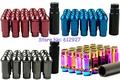 Muteki S48 Steel Racing Wheel Lug Nuts M12x1.5/1.25 Neochrome, Gold, Silver, Blue, Red, Black, Titanium