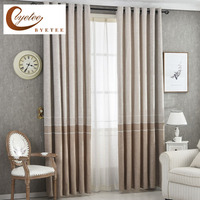 {byetee} Modern Curtain Fabrics Living Room Window Kitchen Best Curtains For Bedroom Drapes Modern Window Cortins Blackout