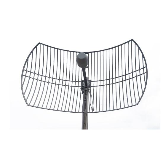 4g mimo antenna grid antenna 1700 2700MHz 2G 3G 4G LTE Outdoor Grid Antenna 2X24dBi External