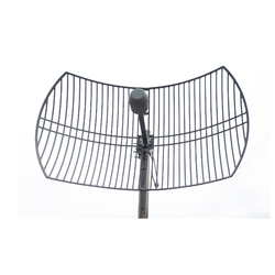 4g mimo هوائي شبكة هوائي 1700-2700MHz 2G 3G 4G LTE في الهواء الطلق شبكة هوائي 2X24dBi هوائي خارجي مع N موصل سالب