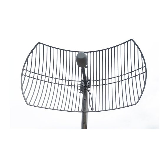 US $95 89 |4g mimo antenna grid antenna 1700 2700MHz 2G 3G 4G LTE Outdoor  Grid Antenna 2X24dBi External Antenna with N female connector-in Antennas