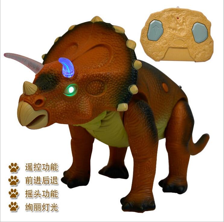 Nuevo Estilo de Control Remoto Juguetes Figura Niños de Simulación de Dinosaurio