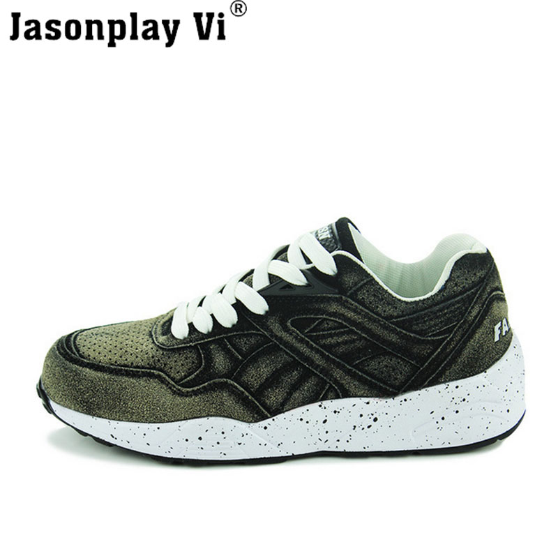 Jasonplay Vi & 2016 New Brand Fashion Casual Shoes Men Tenis Autumn Men Shoes Breathable Flat Zapatos Shoes Men Trainers WZ312 jasonplay vi