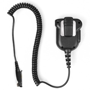 Image 2 - New Upgraded IP67 Waterproof PTT Speaker Microphone For Ailunce HD1 Retevis RT29/RT82/RT83/RT87/RT648/RT647 Walkie Talkie J9131G