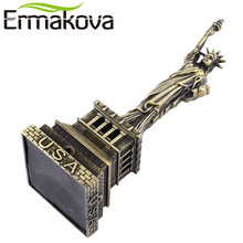 ERMAKOVA Antique Bronze the Statue of Liberty Replica Model