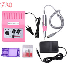 Fiso EU Plug 220V High-grade Transfer Fast Professional Electric Nail Salon Drill Glazing Machine Manicure