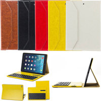 Detachable Ultra thin Case Stand Cover Holder+Wireless Bluetooth Keyboard for iPad Air 9.7inch QJY99