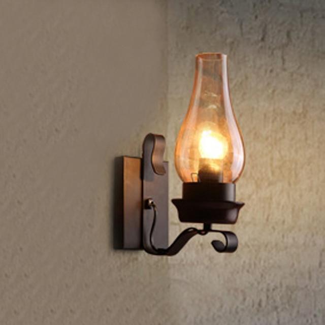 Retro Lantern Style Wall Lamp Creative Home Furnishing Sconce Modern Lamps Gl Light Fixture