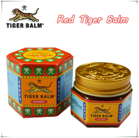 19 4g Tiger Balm Red Ointment Essential Balm Insect Bite Extra Strength Pain Relief Arthritis Joint