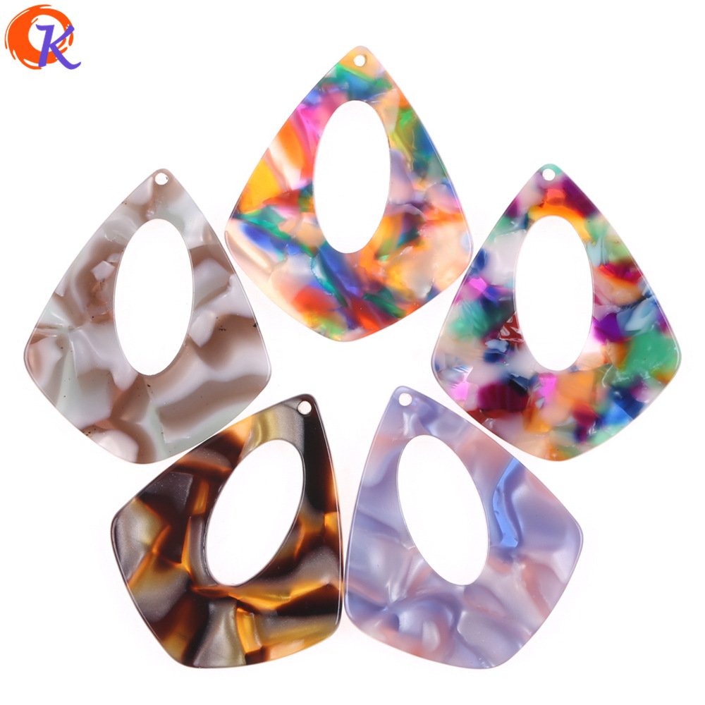 Cordial Design 31*38mm 50Pcs Jewelry Making/Earring Parts/Acetic Acid/Drop Shape/DIY Accessories/Hand Made/Earring Findings
