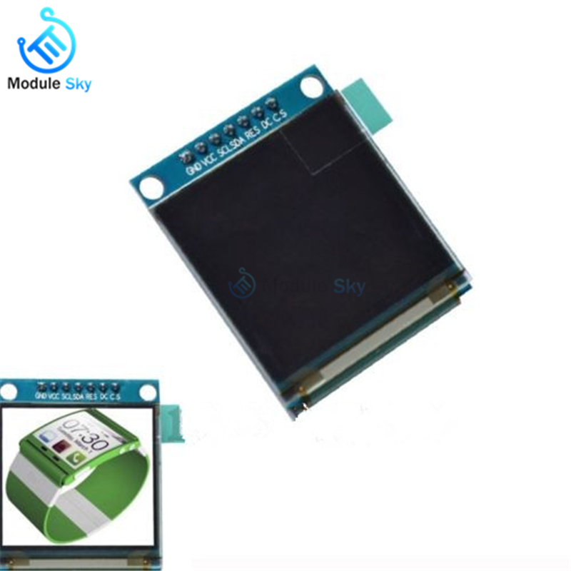 1.5 inch 7PIN Full Color OLED module Display Screen SSD1351 Drive IC 128(RGB)*128 SPI Interface for 51 STM32 For Arduino1.5 inch 7PIN Full Color OLED module Display Screen SSD1351 Drive IC 128(RGB)*128 SPI Interface for 51 STM32 For Arduino