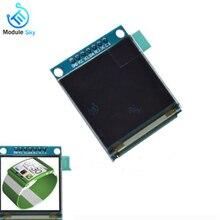 1,5 дюймов 7PIN полный Цвет OLED модуль Экран дисплея SSD1351 Водительская подушка безопасности 128 (RGB) * 128 SPI Интерфейс для 51 STM32 для Arduino