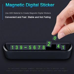 Image 2 - Автомобильный Стайлинг, карточка с телефоном для временной парковки, табличка с номером телефона, автостоянка, автостайлинг, автомобильные аксессуары