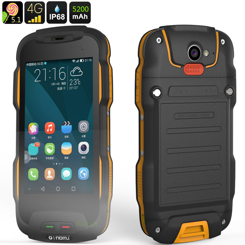 Original Oinom T9H IP68 Rugged Waterproof Phone 4G LTE Smartphone Android 5 1 Shockproof Mobile phone