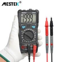 MESTEK DM90E Multimeter DC/AC Voltage Current Resistance Meter NCV True RMS Portable Digital Multimeters Measure Tool