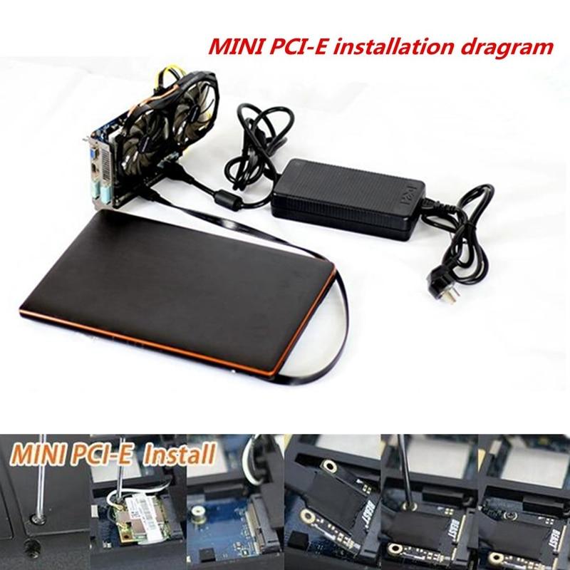 Mini PCI-E Independent Video Card Dock EXP GDC Fit Beast Laptop External External Independent Video Card Dock Express Card