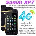100% оригинал Sonim XP7 FDD-LET 4 г WCDMA 3 г GSM 2 г xp7700 IP68 водонепроницаемый телефон 4800 мп камерой Runbo телефон catb15q s50