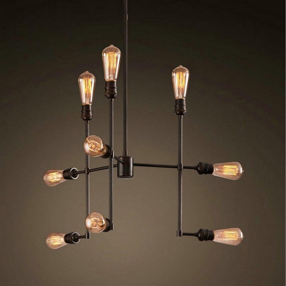 Vintage Industrial Loft Pendant Lights/Industrial Light/Rustic/Lodge/Vintage /Retro/CountryLiving Room/Dining Room/Entry/Game In Pendant Lights From  Lights ...
