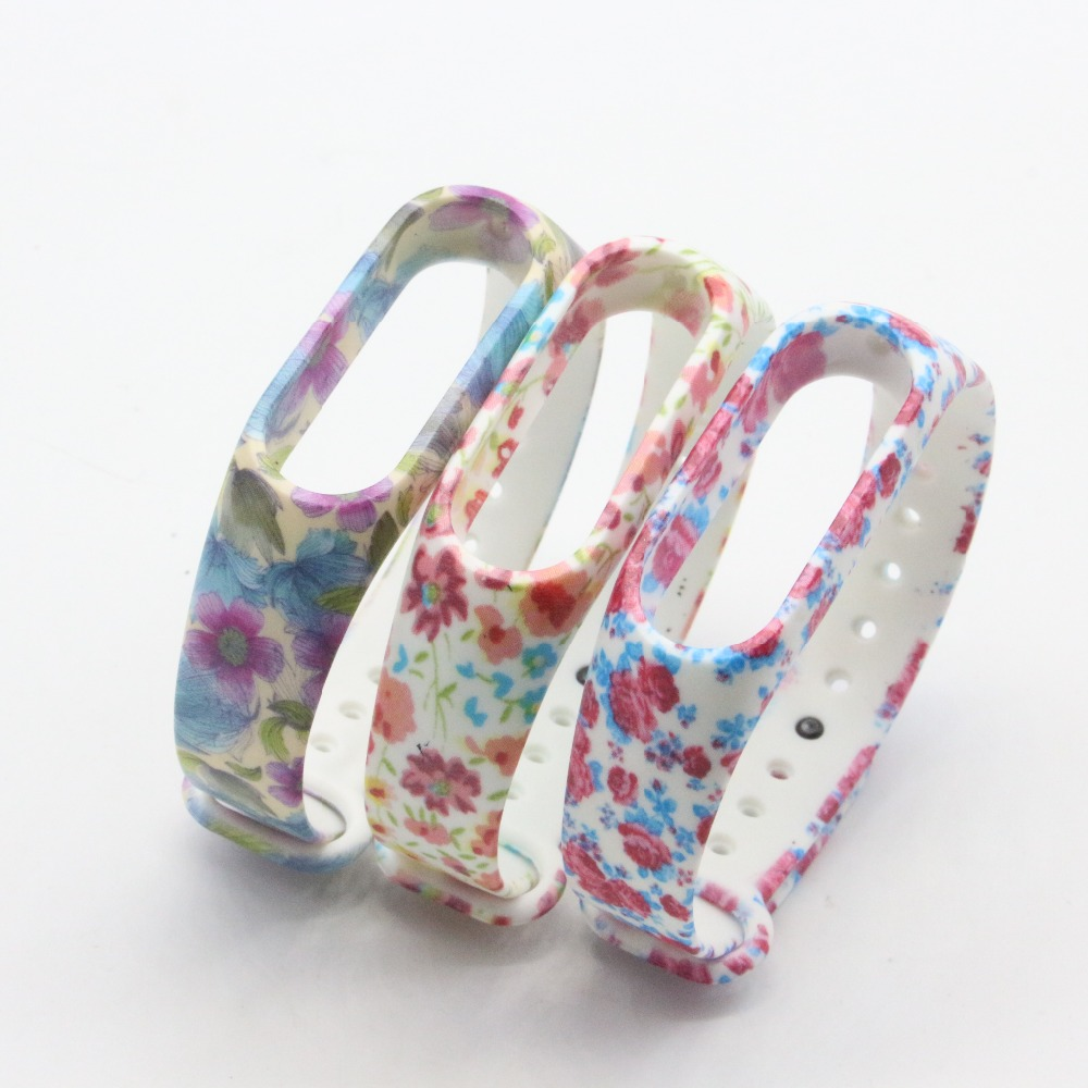 (XM2HS) 3pcs/lot T15 Replace Strap for Xiaomi Mi Band 2,Silicone Wristbands for Mi Band 2 Accessories