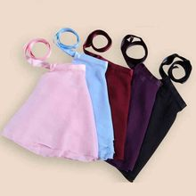 Girls professional Leotard classical ballet tutu skirt,Adult Children Chiffon Ballet Tutu Skirt,Dance Wrap Scarf Leotards skirt(China)