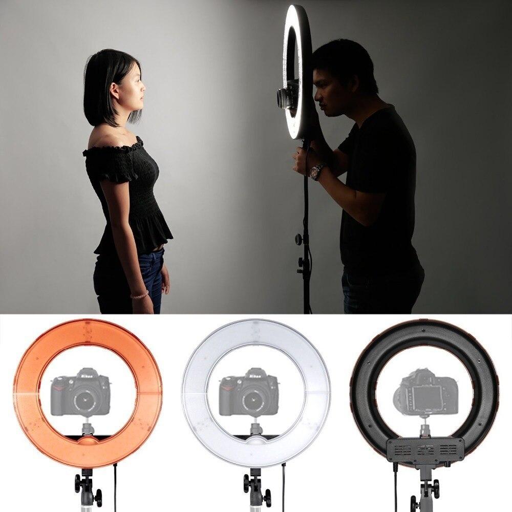 Neewer камера фото/видео светодиодный SMD кольцевой свет 5500 K кольцо с регулируемой яркостью видео свет с пластиковым цветным фильтром и универс... - 3