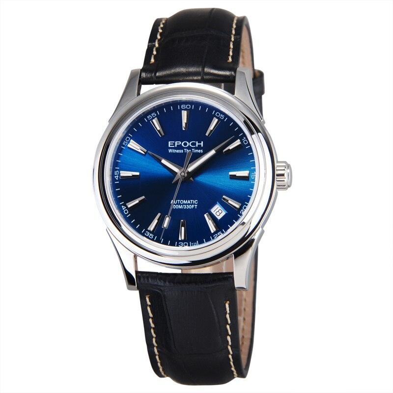 Epoki 6029G na morze mewa ruch gazu trytu świecenia szafir lustro mężczyzna biznes automatyczne zegarek mechaniczny zegarek w Zegarki mechaniczne od Zegarki na  Grupa 3