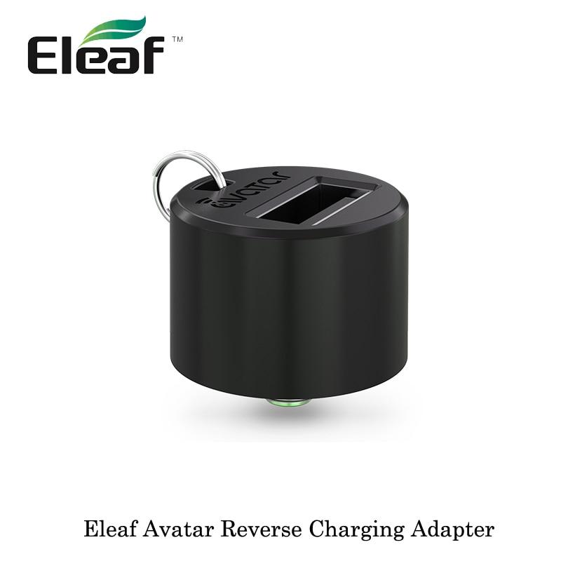 100% Originale Eleaf Avatar Carica Inversa Adapter Convert Pico Dual 510 connessione per USB E Cigs banca di Potere mod 2017 migliore