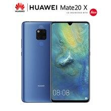 Huawei Mate 20X4G 5G Mate 20X 7.2 calowy ekran telefon komórkowy 5000mAh bateria NFC 40MP Leica potrójny aparat Smartphone Android 9.0