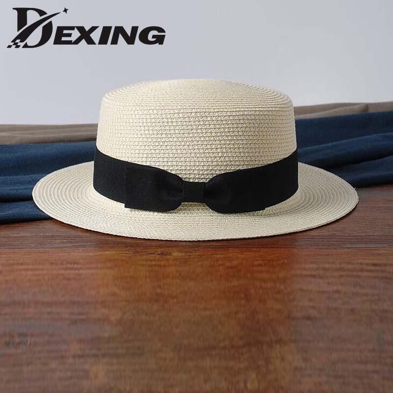 Dexing sun straw hat summer Hats For Women Beach straw hat