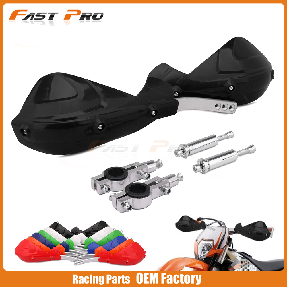 Motorcycle Handguard Hand Guards Brush Bar For Pit Dirt Bike Motocross Off-road KTM EXC EXCF SX XC SXF MX 125 200 250 400 525 new oem seat for ktm sx sxf xc xcf 125 200 250 300 400 450 2013 2014 dirt bike mx motocross enduro supermoto sm