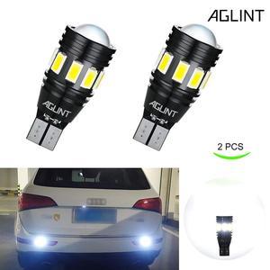 Image 2 - AGLINT 2PCS T15 W16W LED 912 T16 LED Car Bulbs CANBUS No Error Code For Backup Reverse Lamp Xenon White 6000k 12 24V