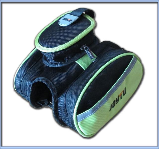 Bicycle bag joytu double bag cell phone double pocket bag multifunctional storage bag
