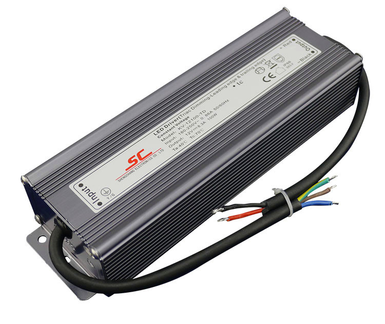 KVP-24100-TD;24V/100W triac dimmable constant voltage led driver,AC90-130V/AC170-265V input от Aliexpress INT