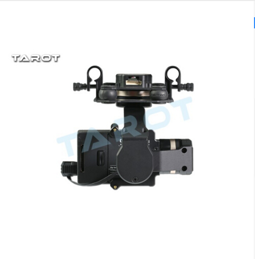 F17391 Tarot TL3T01 Update from T4 3D 3D Metal 3 axle Brushless Gimbal for GOPRO 4 / 3+/ 3 FPV Photography - 4