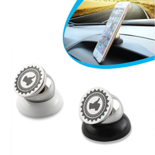 Universal 360 Degree Rotating Magnetic Car Phone Holder GPS Stand For iPhone 4S 5 5S 6 Samsung Galaxy Cellphone Accessaries