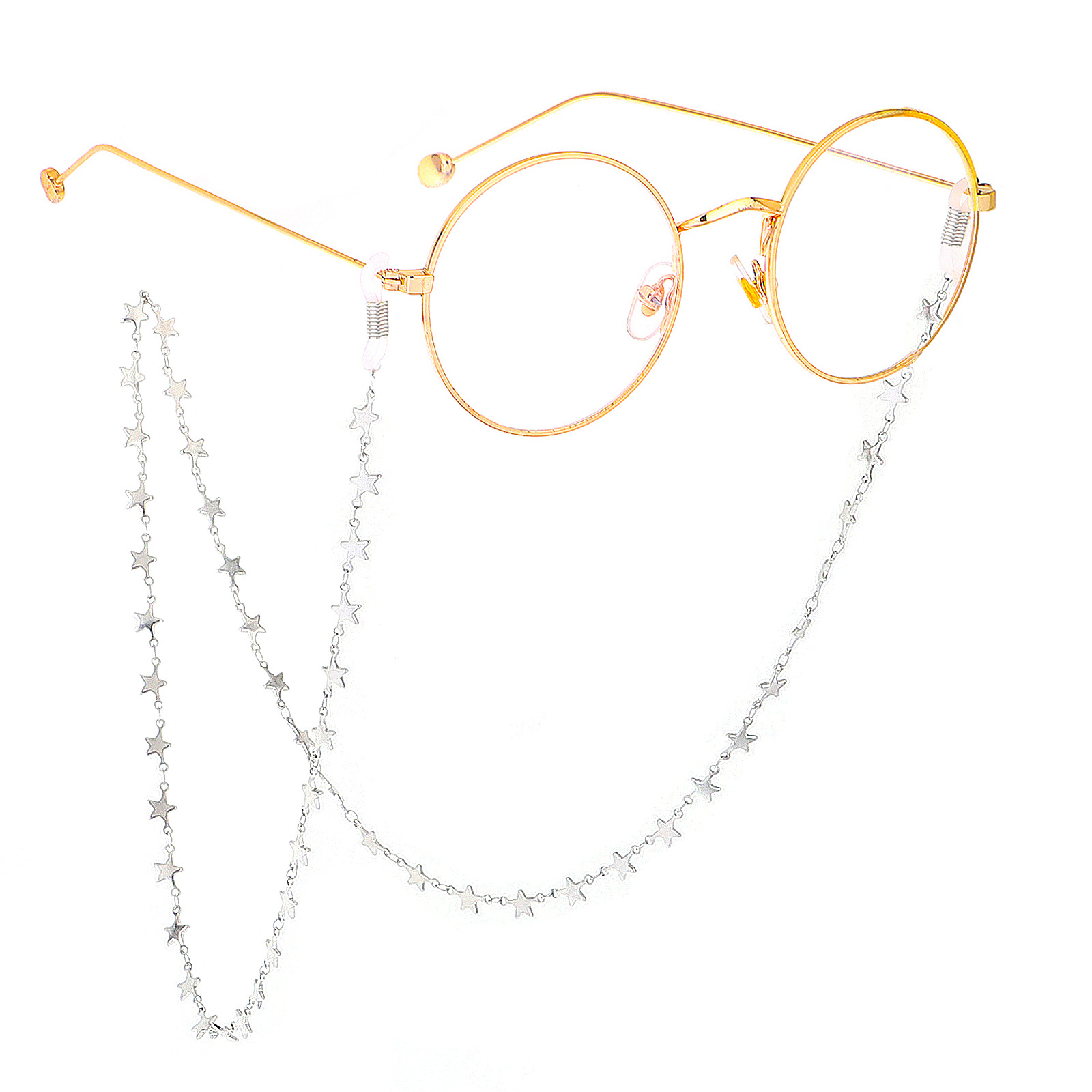 2019 Fashion Women Pendant Eyeglass Chains Sunglasses Stars Pendant Glasses Chain Eyewears Cord Holder neck strap Rope Accessary in Eyewear Accessories from Apparel Accessories