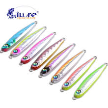 Metal Lure Fishing Bait 33g Lead fish Metal Jig Fishing Lure Paillette Knife Wobbler Artificial Hard Bait Jigging Lure