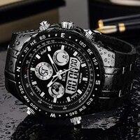 BINZI Men's Watch reloj hombre Sport Waterproof Watches for Men Wrist Watches Clock Relogio Masculino erkek kol saati Male Hour