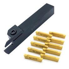 MGEHR2020 MGEHR1616-1.5-2-2.5-3mm Groove Arbor z MGMN 150 200 250 300 wkładki z węglika tokarka rowkowanie zestaw narzędzi tokarskich