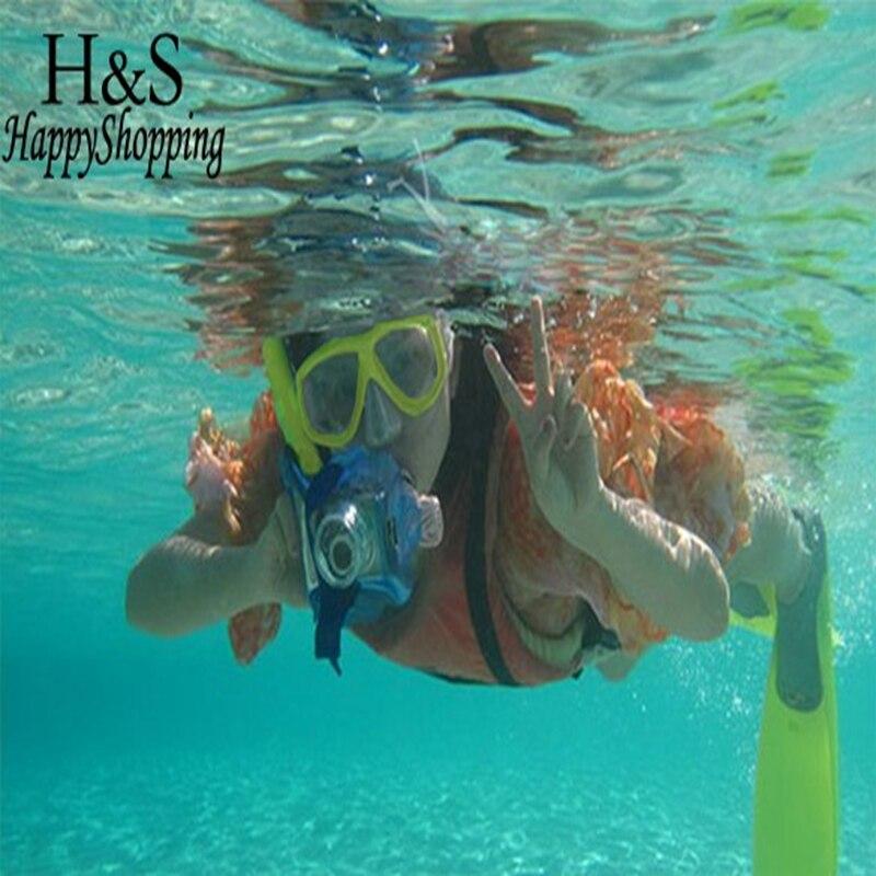 2017 Nowa Podwodna Morze Nurkowanie Snorkeling Maska Pływanie - Sporty wodne - Zdjęcie 2