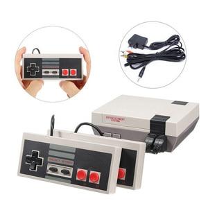 Image 1 - Gry wideo 620 klasycznych gier Port AV Retro mini telewizor ręczny wypoczynku rodzinnego konsola do gier wideo US wtyczka podwójny Gamepad odtwarzacz