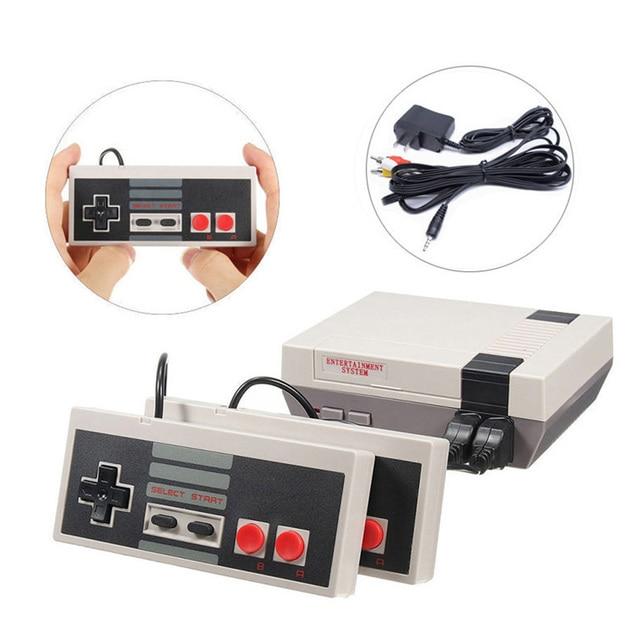 Gry wideo 620 klasycznych gier Port AV Retro mini telewizor ręczny wypoczynku rodzinnego konsola do gier wideo US wtyczka podwójny Gamepad odtwarzacz