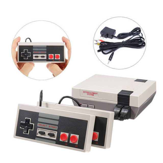 Video Game 620 Classic Games AV Port Retro Mini TV Handheld Family Recreation Video Game Console US Plug Dual Gamepad Player