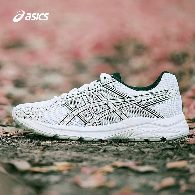 2018 original ASICS GEL-CONTEND 4 Women Jogging Running Shoes Cushion  Breathable Airmesh Sports Shoes Sneakers T8D9Q 83cb197e89c7