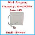 4 dbi impermeable 800 - 2500 Mhz de interior antena de Panel exterior gsm 3 G radio antena LTE 4 G antena Panel tamaño mini FDD TDD antena
